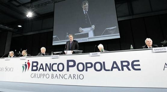 Banco Popolare: BCE chiede interventi straordinari