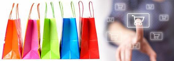 Italia: l'e-commerce cresce la metà della media europea
