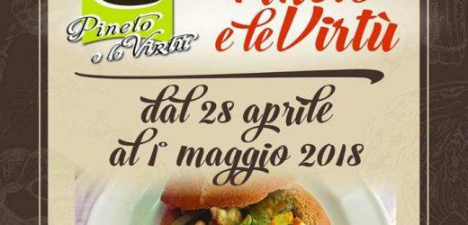 Pineto: il I° maggio i ristoranti aderenti agli Itinerari del Gusto anche quest'anno propongono le virtù