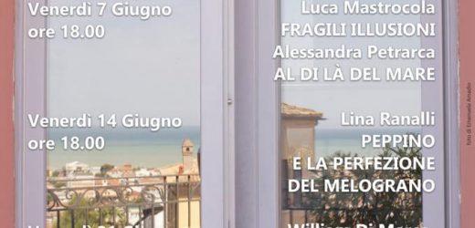 """A Giulianova le """"Letture al tramonto"""": gli incontri con gli scrittori"""