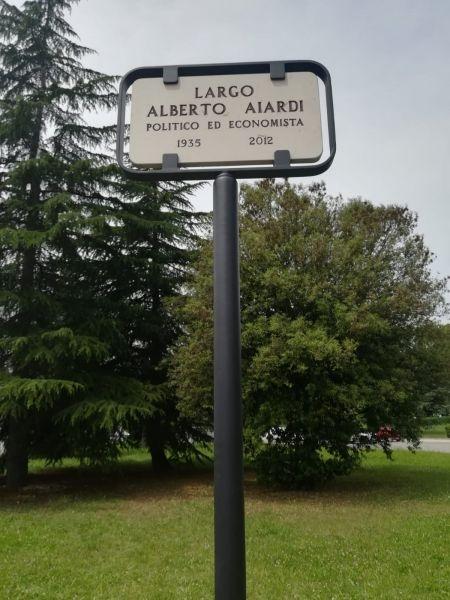 Teramo: è stato inaugurato il Largo Alberto Aiardi