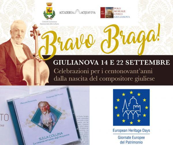 """""""BRAvo BRAga!"""": l'evento per il 190° anniversario della nascita di Braga"""