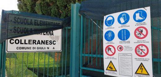 Lavori in corso a Giulianova: adeguamento sismico e riqualificazione di una scuola
