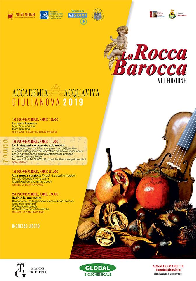 """""""La Rocca Barocca"""": il Festival di musica barocca"""