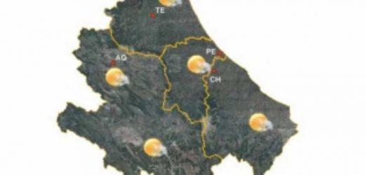 Abruzzo: previsioni Meteorologiche dal 3 al 6 maggio 2019