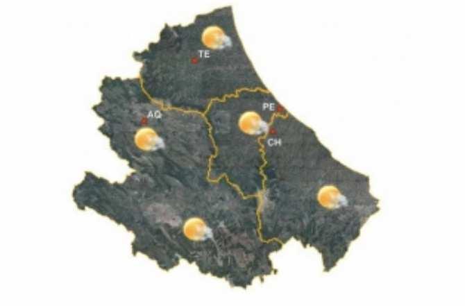 Previsioni Meteo Abruzzo per oggi e domani 7 maggio 2019