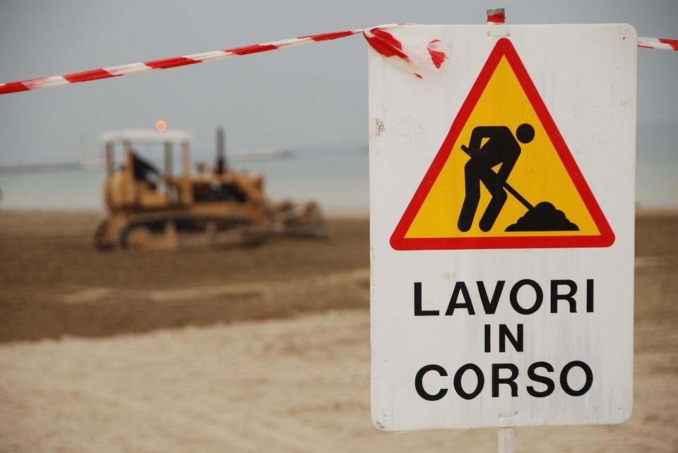 Lavori in corso a Giulianova: manutenzione dei fontanini