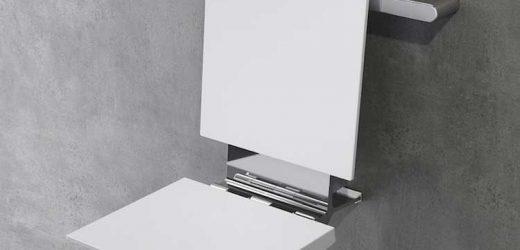 Sedile agganciabile per bagni di design: la Provex lancia un nuovo gioiello